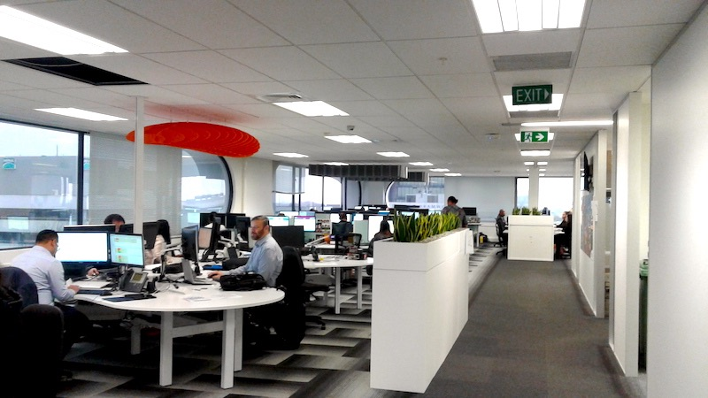 Contact centre fit out Manukau