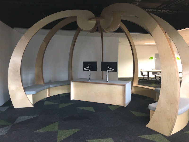 Unitec student hub fit out