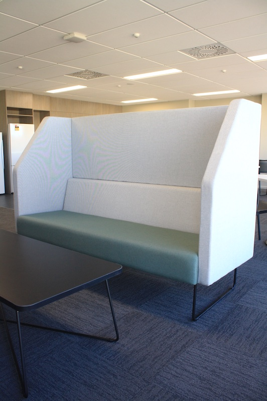 Worksafe Bespoke Chair Design-shared office fit out Rotorua