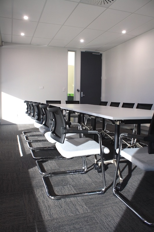 Worksafe Meeting Room-shared office fit out Rotorua