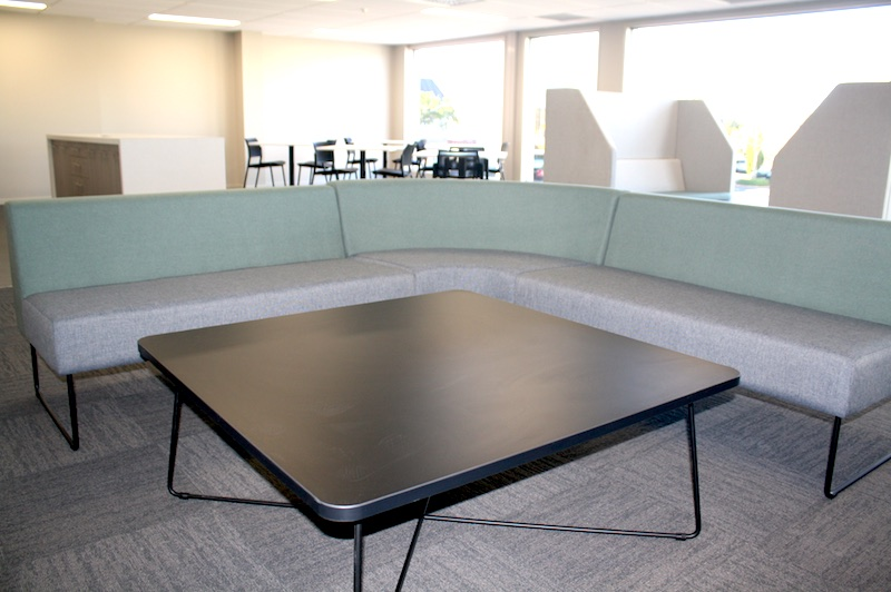 Worksafe Seating-shared office fit out Rotorua