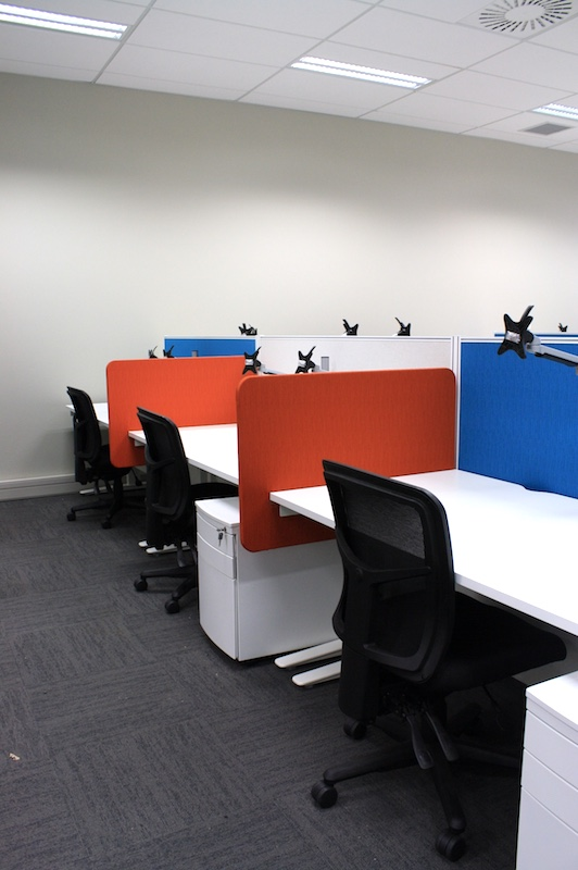 Worksafe Workstation Pedestal Chairs Partitions-shared office fit out Rotorua