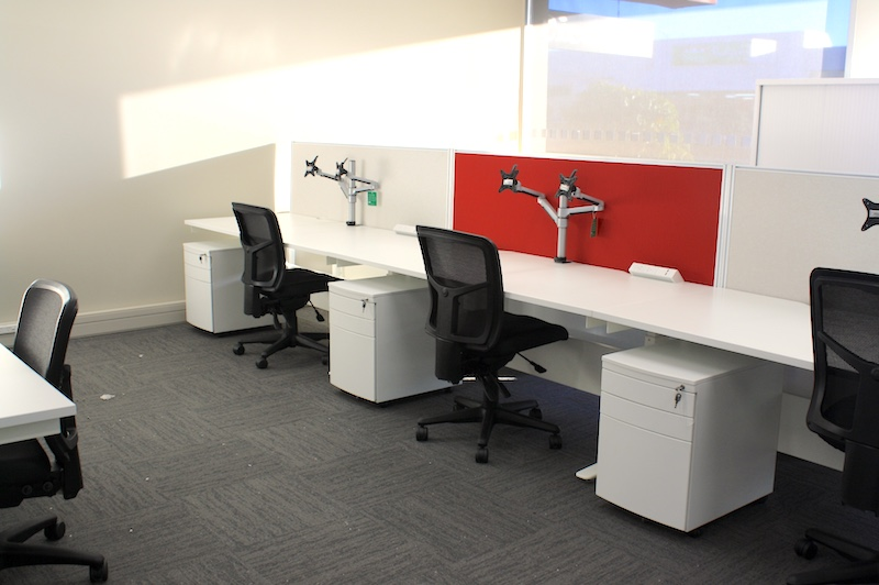 Worksafe Workstations-shared office fit out Rotorua