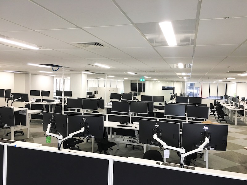 ACC office fit out Hamilton